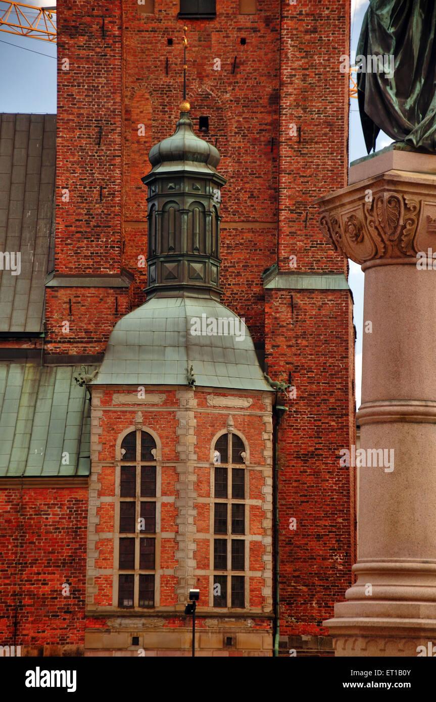 Riddarholmen Kirche Stockholm Schweden Stockbild
