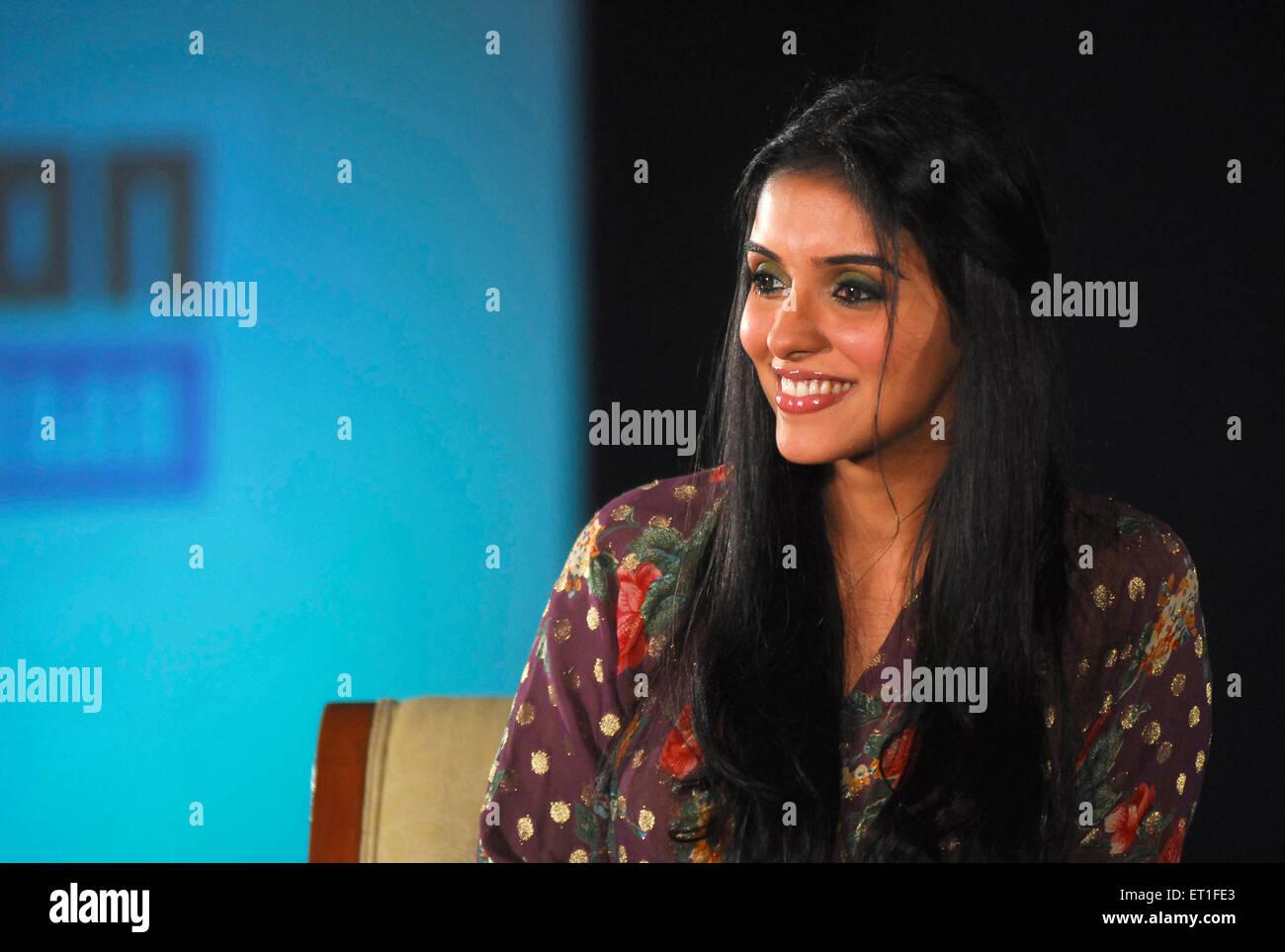 Schauspielerin Asin; Indien nicht Herr Stockbild
