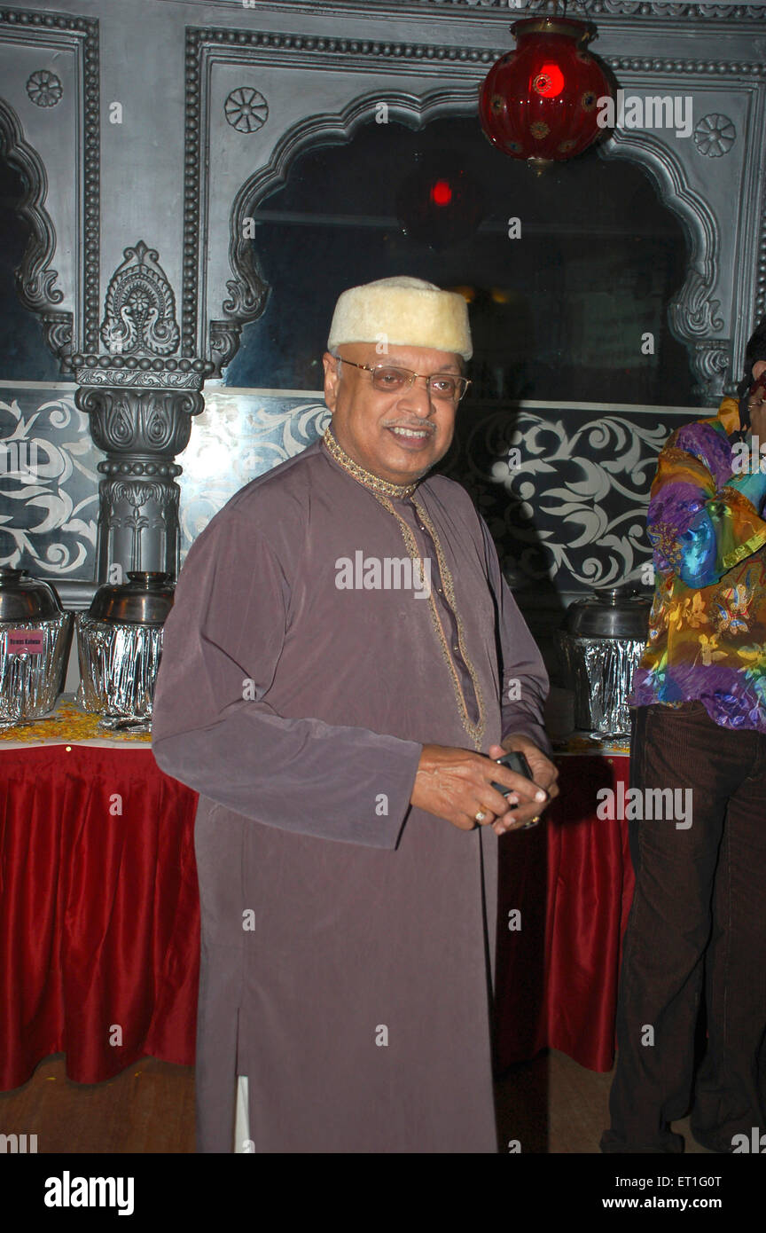 Hersteller Kiran Shantaram; Indien nicht Herr Stockbild