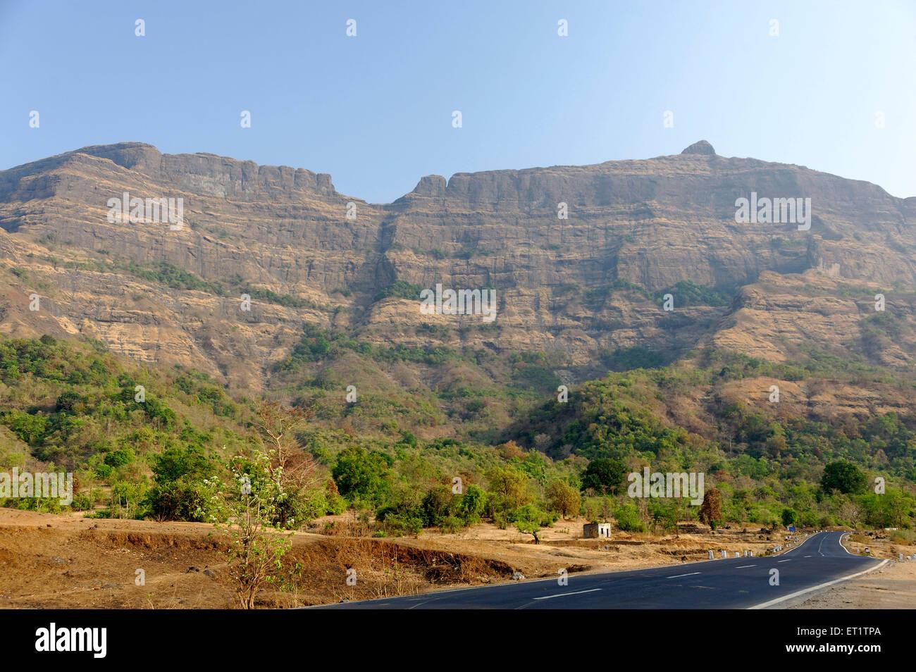 Westlichen Ghat in Maharashtra Indien Asien Stockbild