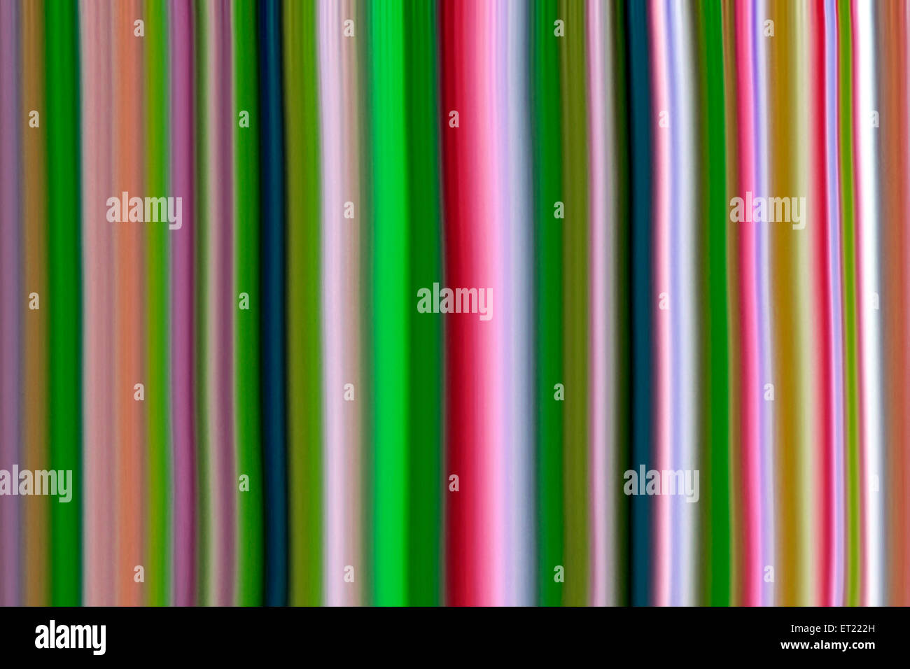 Moderne Kunst Computer digitale Grafiken Farben Linie Stockbild