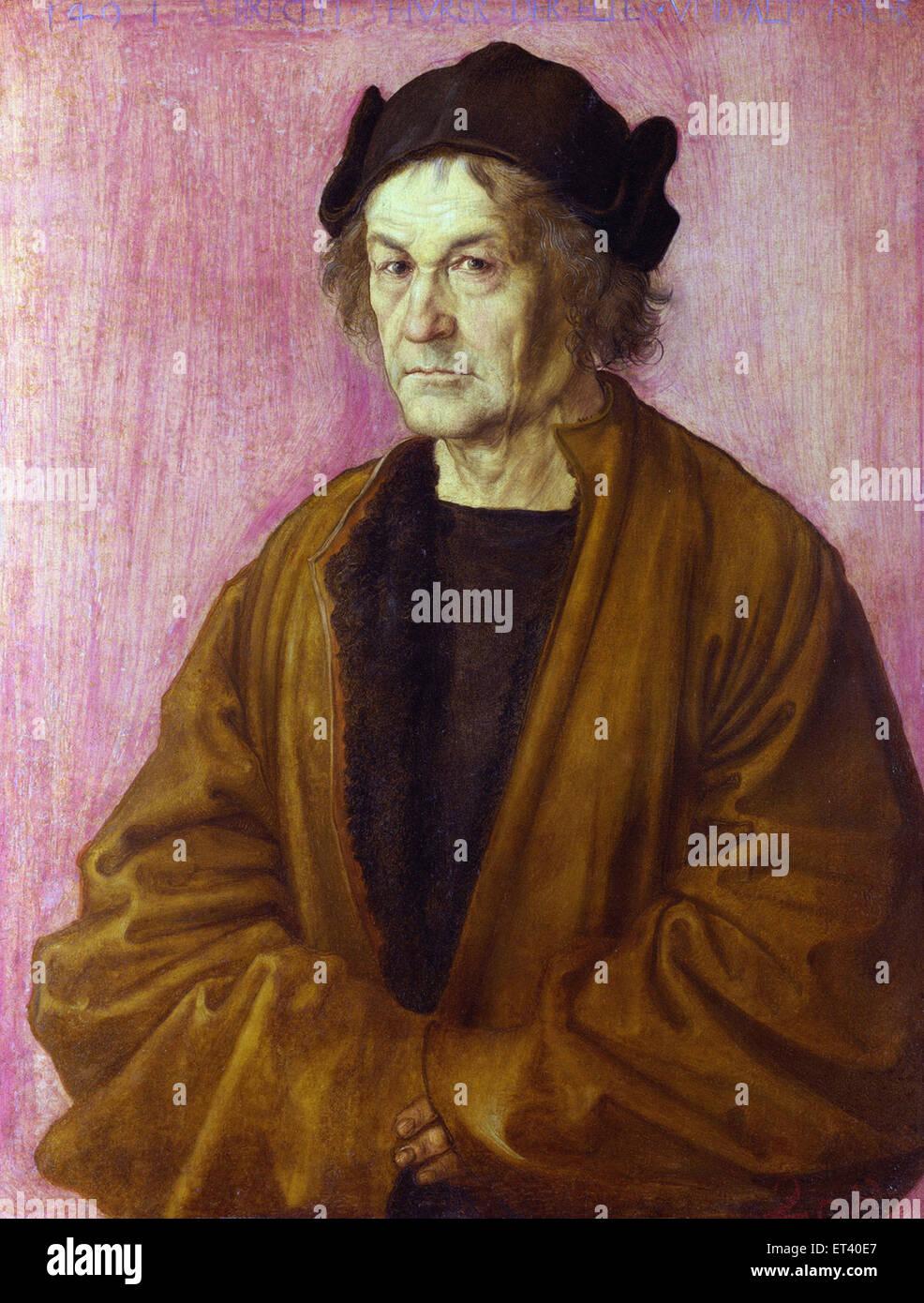 Albrecht Dürer des Malers Vater Stockbild
