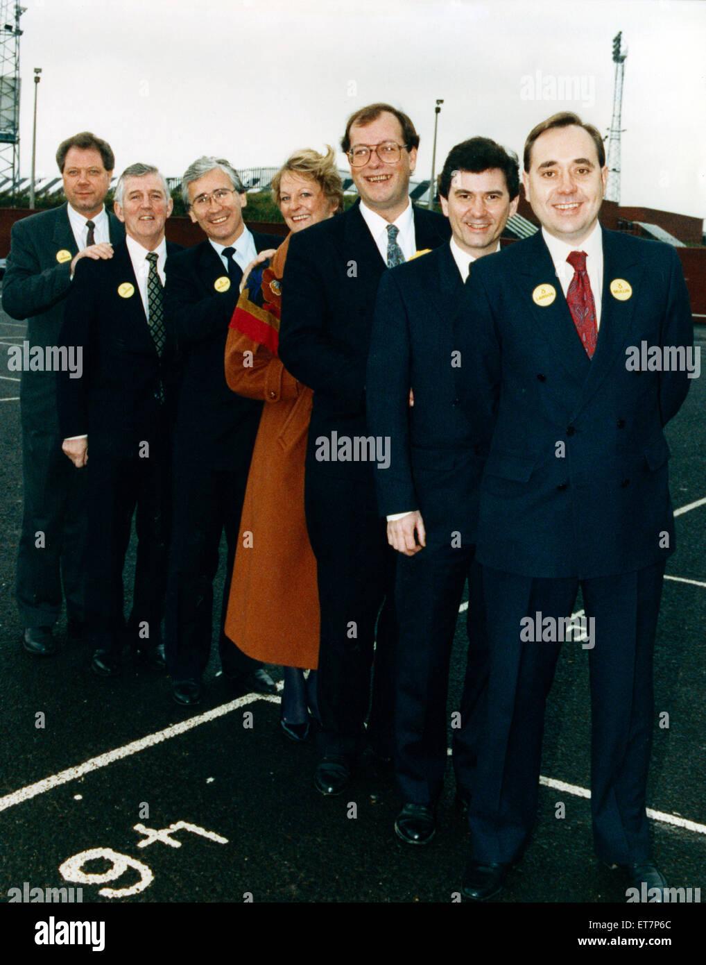 Alex Salmond ca. 1990er Jahre. Stockbild