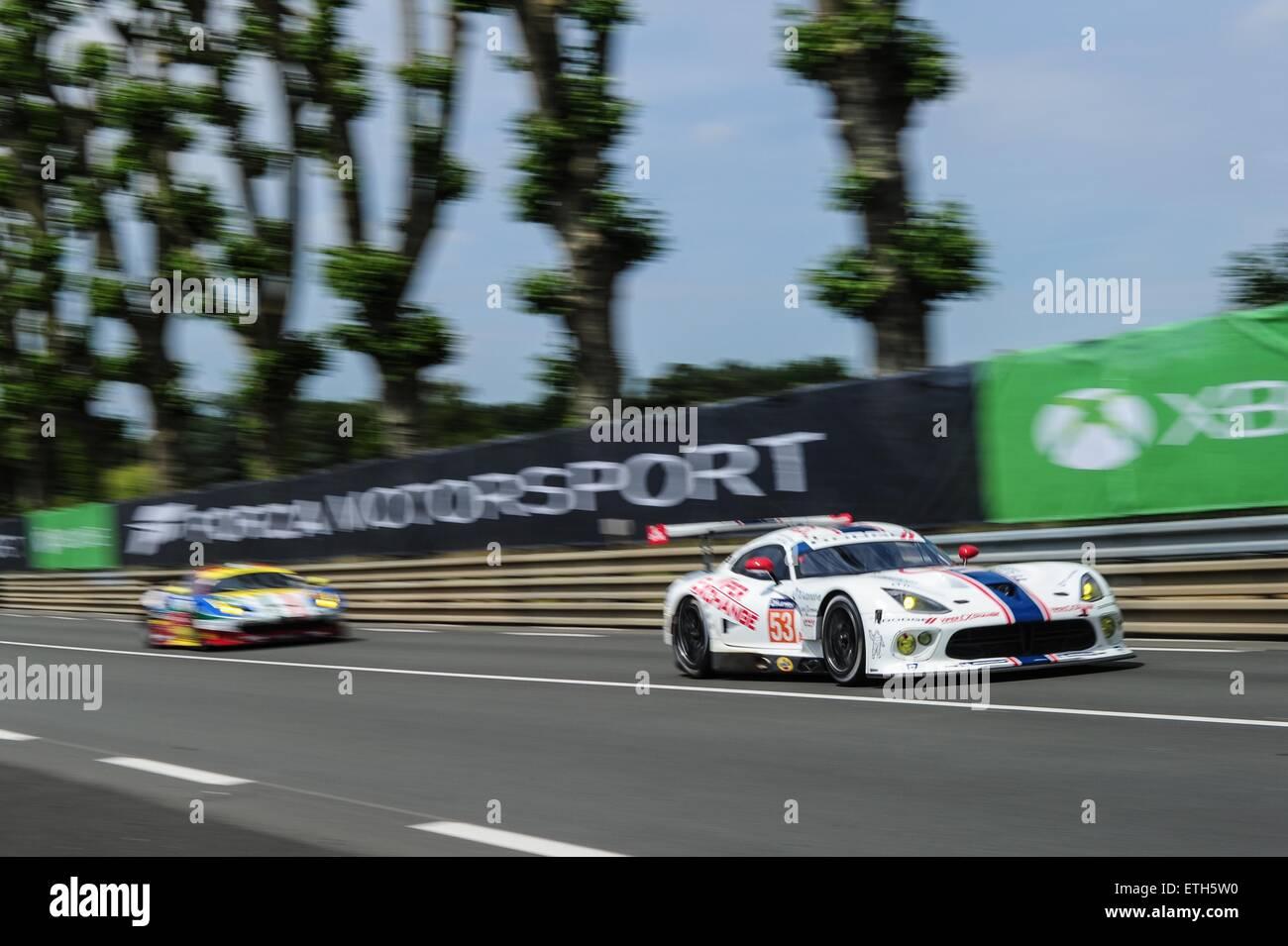 13.06.2015., Frankreich. Endurance-WM. Le Mans 24 Stunden-Rennen ...