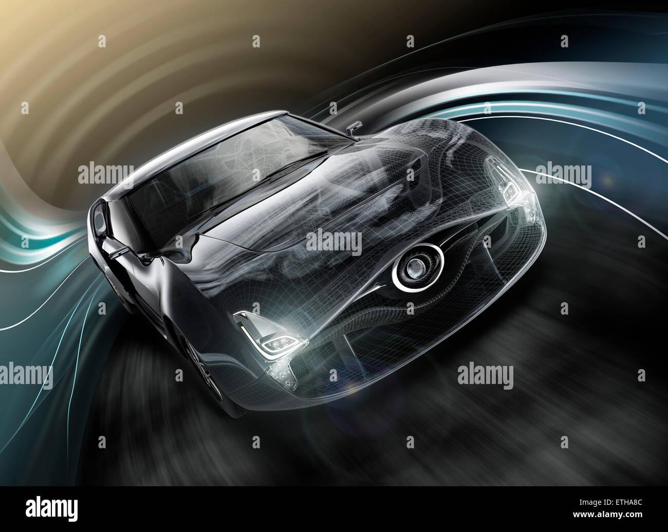 Car Wire Frame Stockfotos & Car Wire Frame Bilder - Alamy