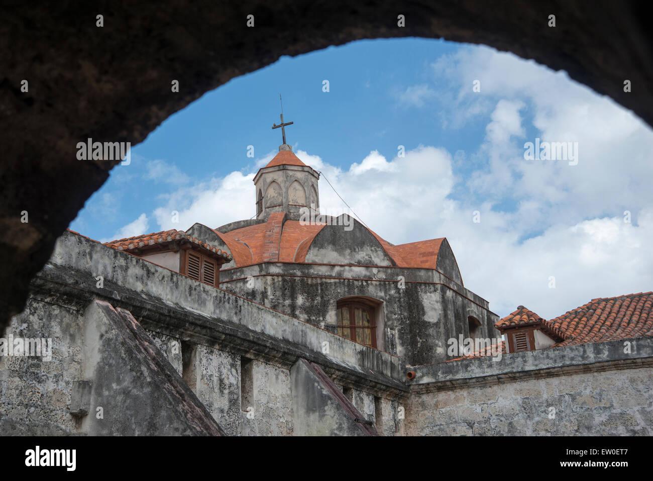 Die Kathedrale von Havanna Stockbild
