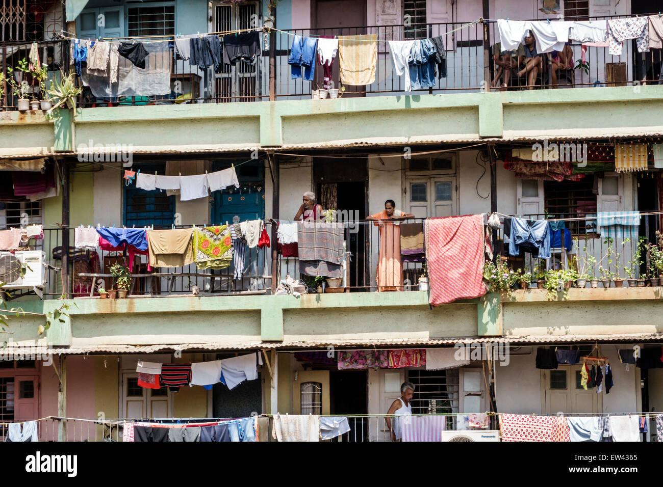 Balkon Asiatisch mumbai indien indisch asiatisch tardeo jehangir boman behram straße