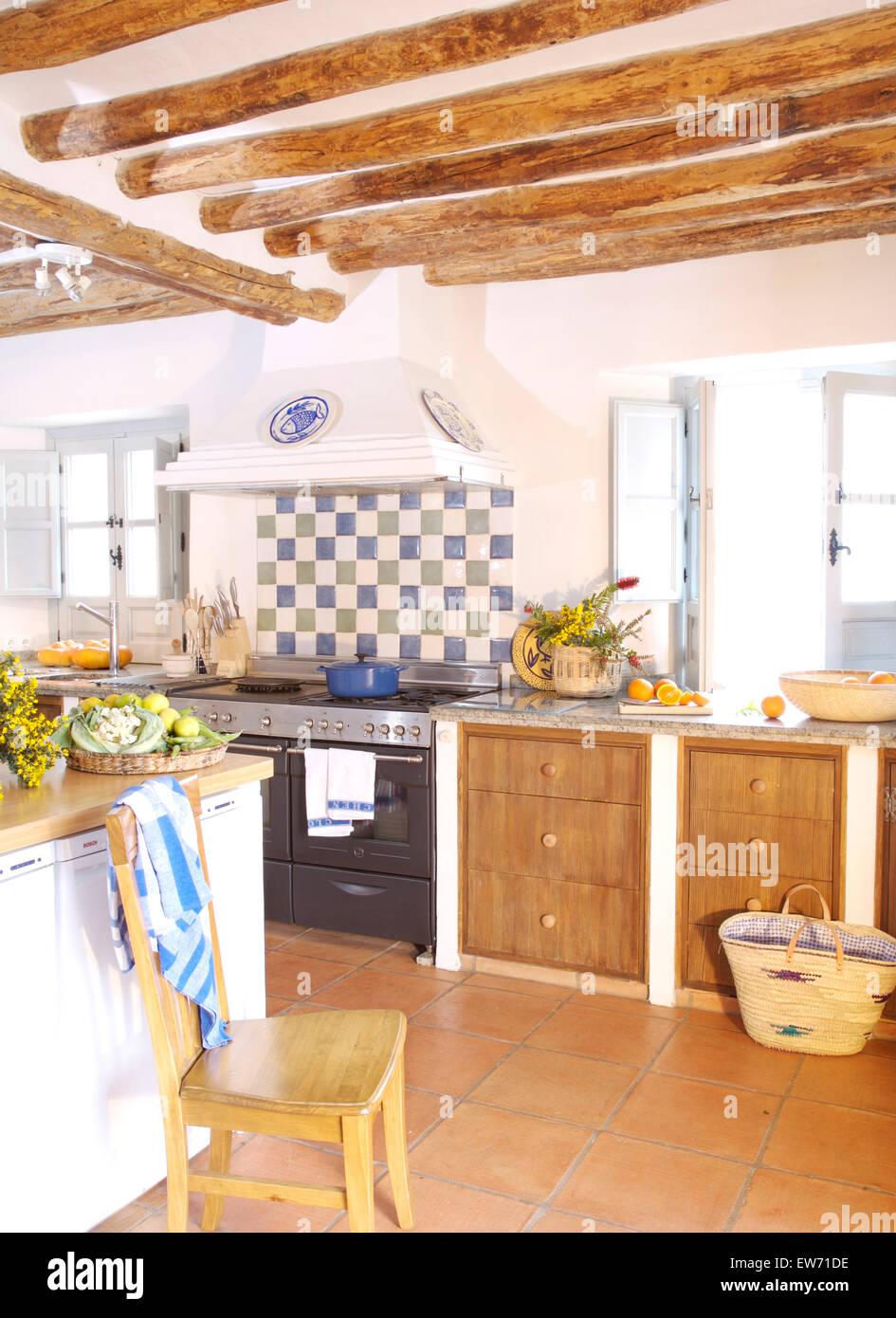 Wunderbar Blau Landküche Bilder Ideen - Ideen Für Die Küche ...