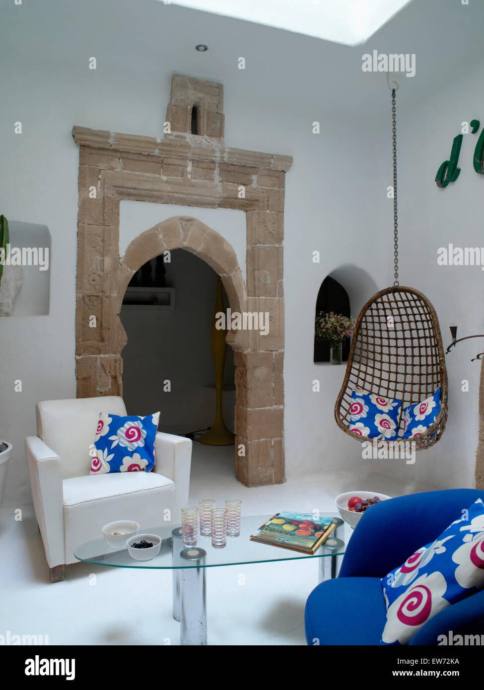 Modern Chair Furniture Monochromatic Stockfotos & Modern Chair ...