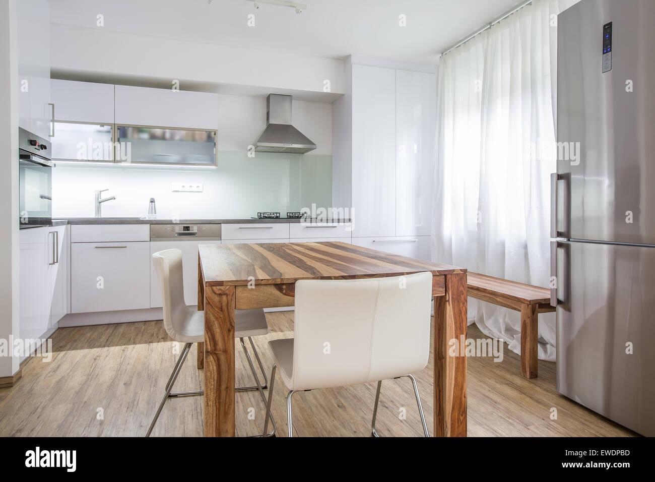 Moderne Küche Innenarchitektur Architektur Stock Bild, Foto von ...
