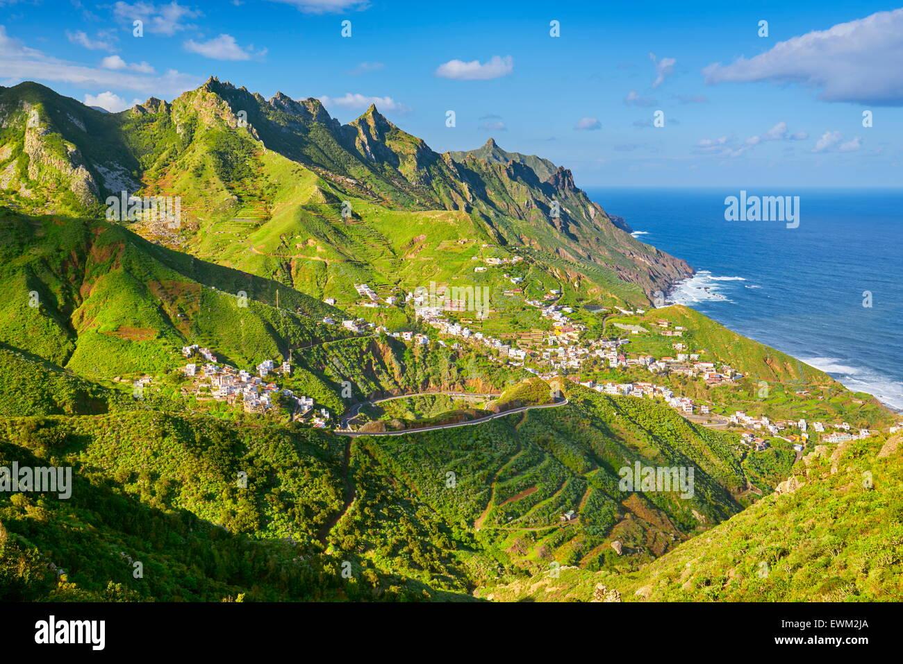 Taganana, Teneriffa, Kanarische Inseln, Spanien Stockbild