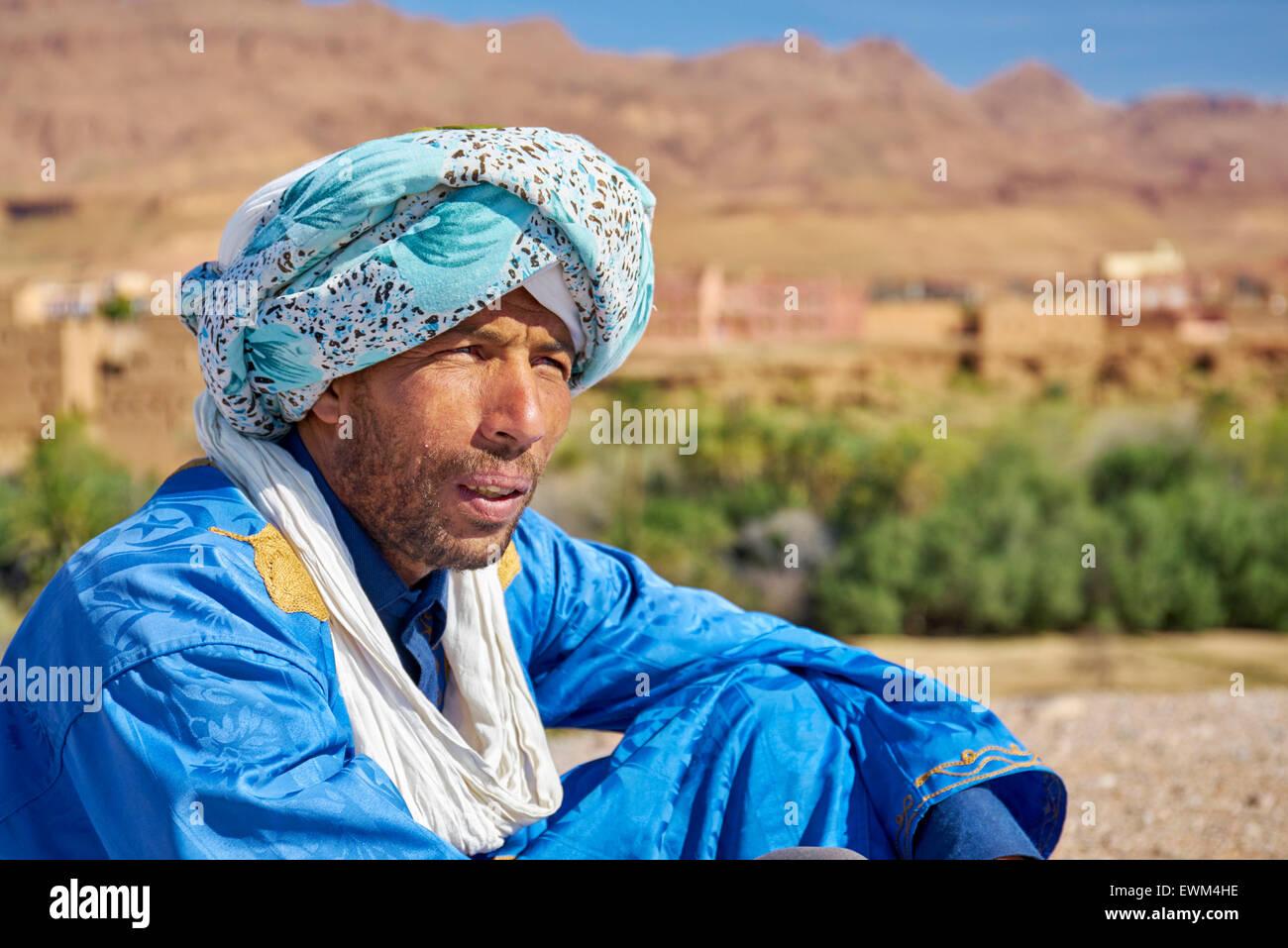 Ein Berber-Mann datiert