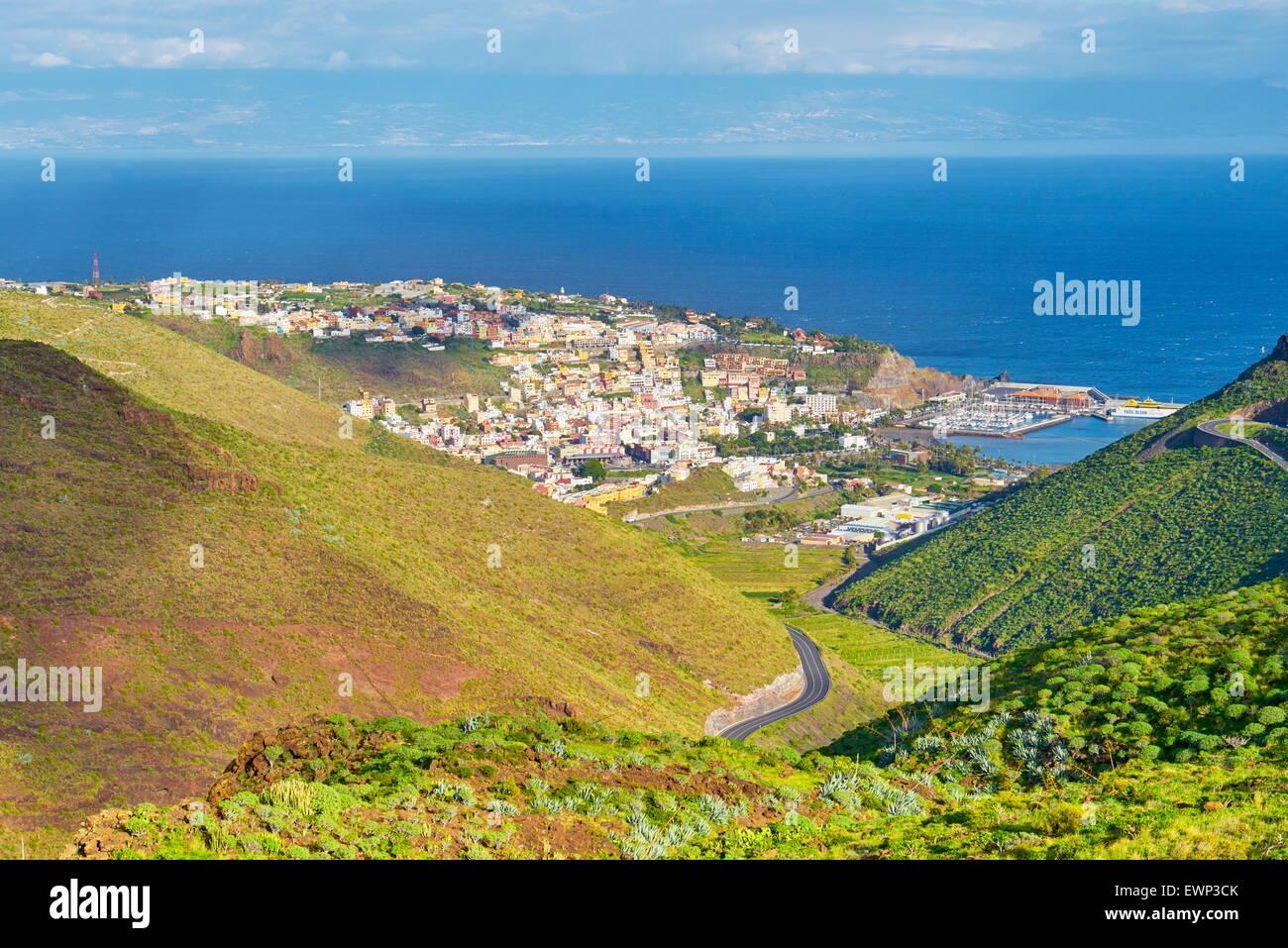 San Sebastian, La Gomera, Kanarische Inseln Stockbild