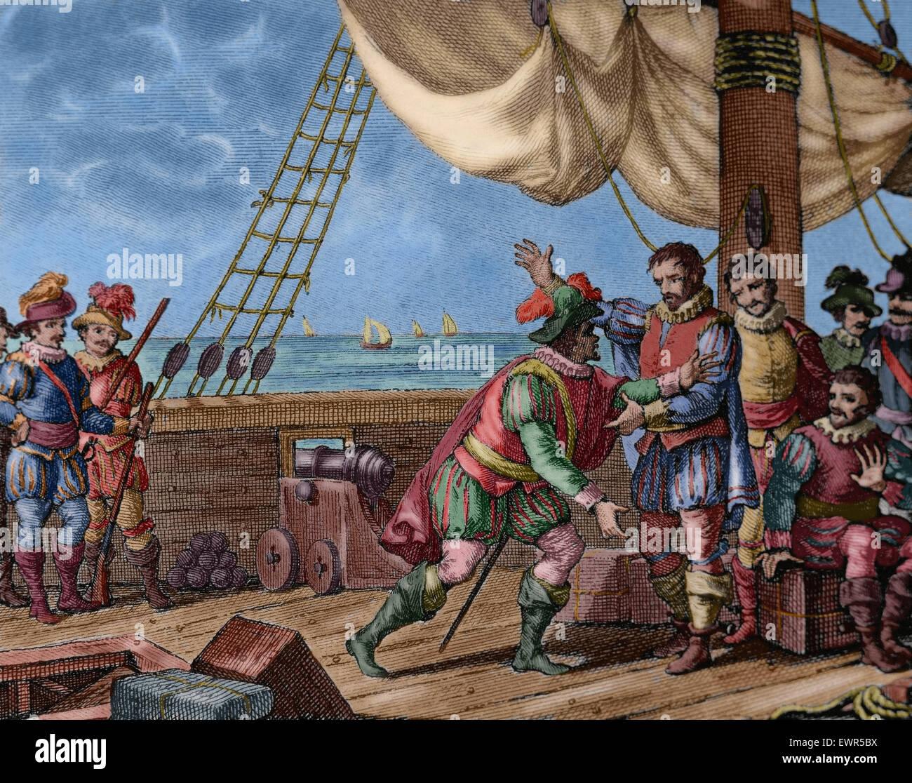 Etwas Neues genug Dritte Reise von Christoph Kolumbus. Columbus und seine Brüder @ZZ_14