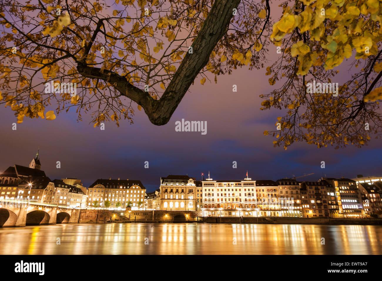 Basel, Basel-Stadt, Schweiz Stockbild