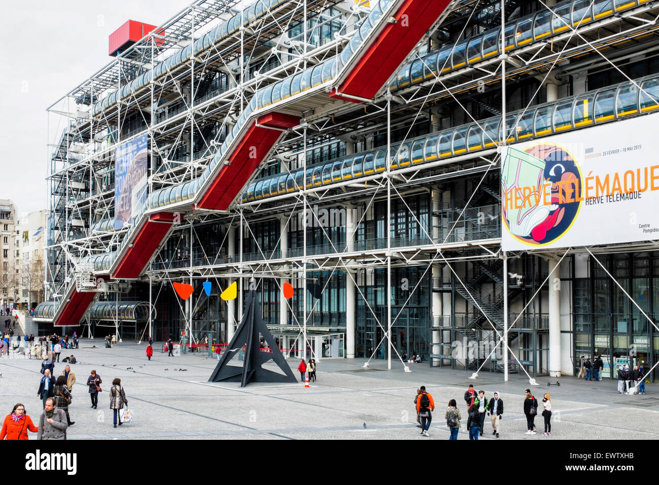 Centre Pompidou National Museum Art Stockfotos & Centre Pompidou ...