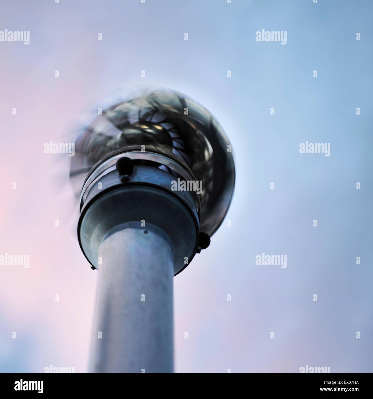 Fan-Turm Stockbild
