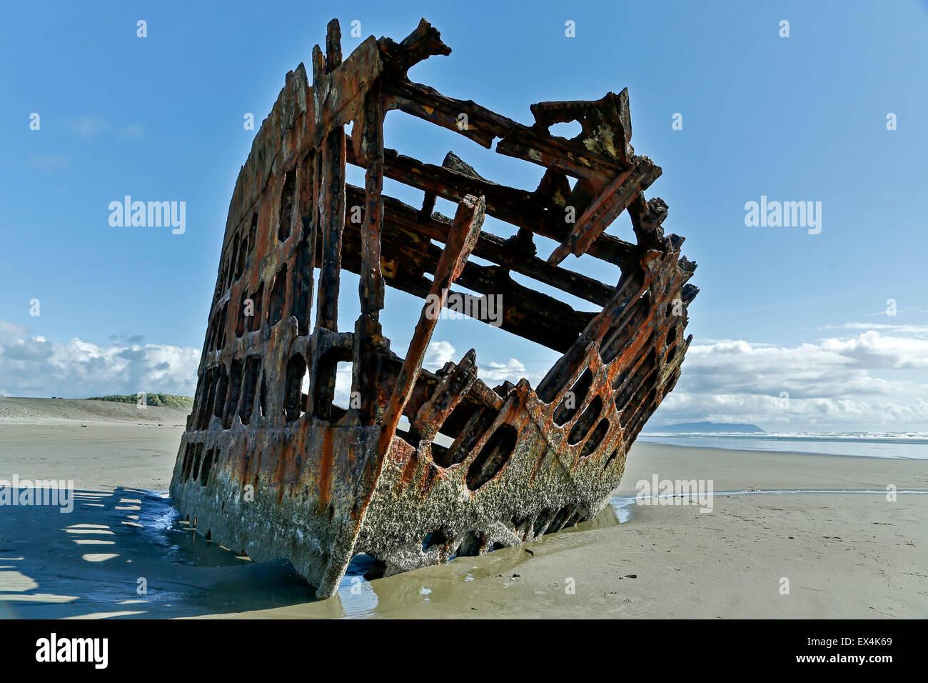 Schiffbruch der peter iredale schiff fort stevens state for Wildparks in der nahe