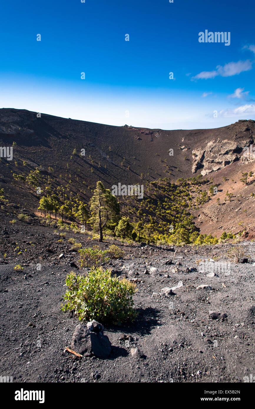 ESP, Spanien, die Kanaren Insel La Palma, der Vulkan San Antonio in der Nähe von Fuencaliente/Los Canarios Stockbild