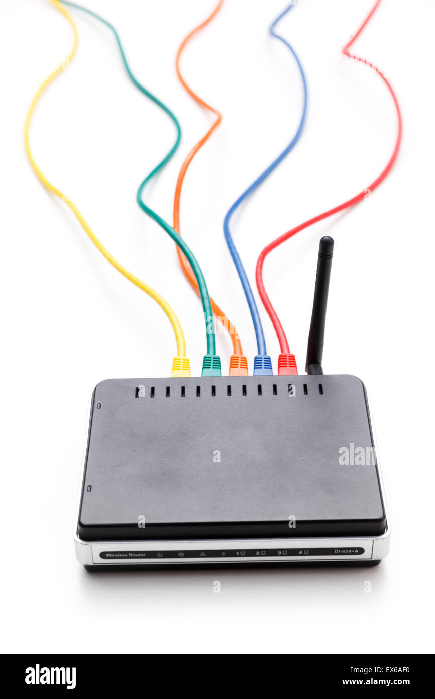 Wlan Router Stockfotos & Wlan Router Bilder - Alamy