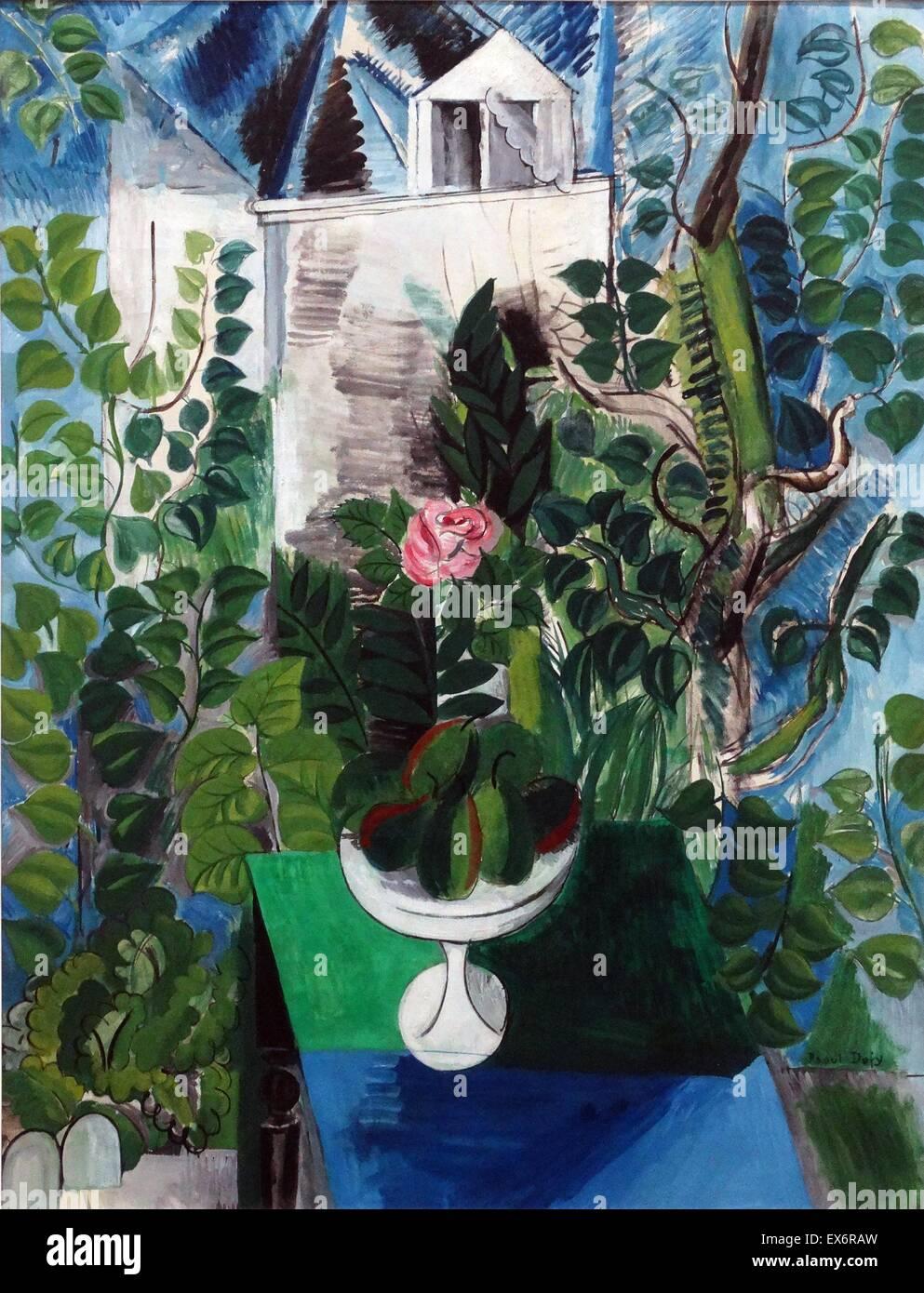 Maison et Jardin von Raoul Dufy (1877-1953). Öl auf Leinwand, 1915 ...
