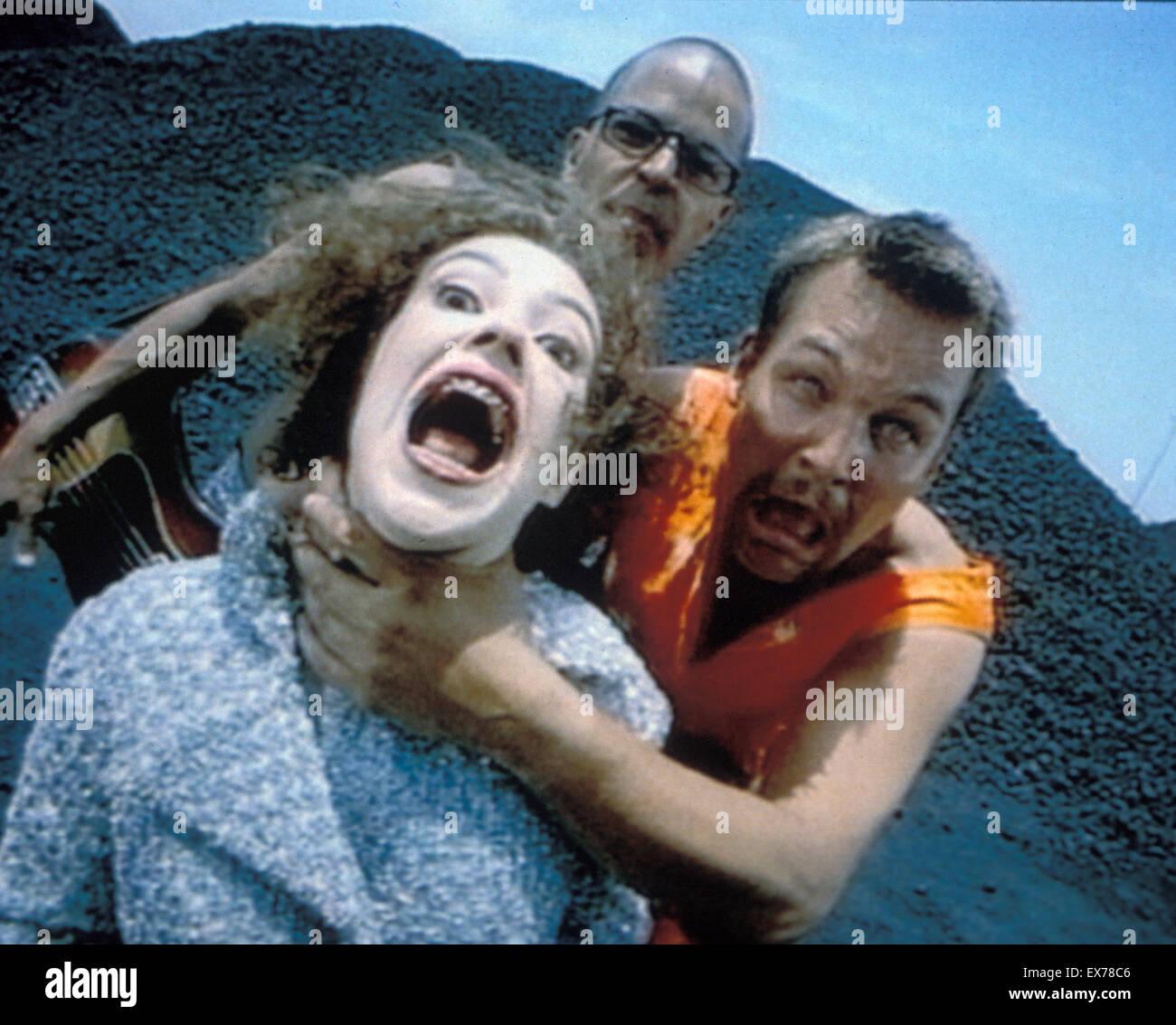 Wal-Promo-Foto der schwedischen Rockgruppe über 1995 mit Cia-Berg auf der linken Seite Stockbild