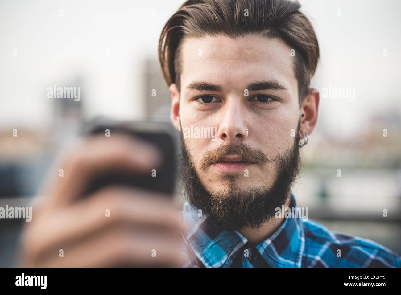 Mann selfie hübscher hallo hübscher