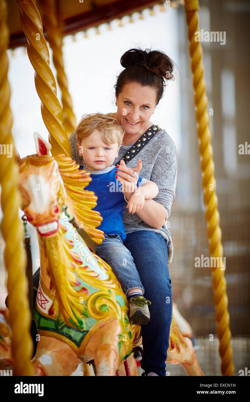 Vorzeitige Pferdegeburt Stockfotos Vorzeitige Pferdegeburt Bilder