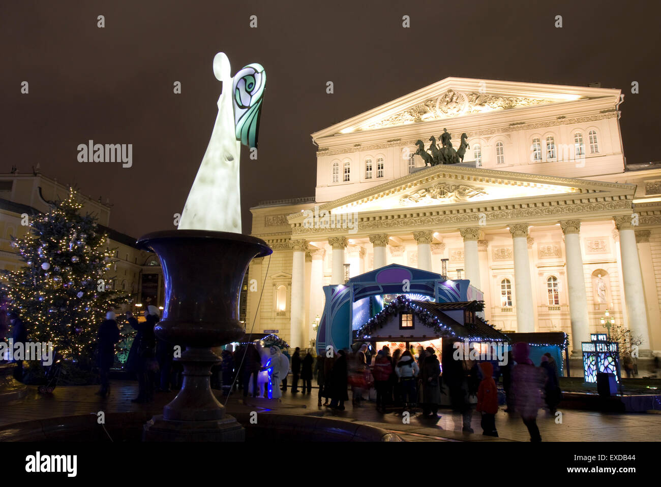 theatre square moscow stockfotos theatre square moscow. Black Bedroom Furniture Sets. Home Design Ideas