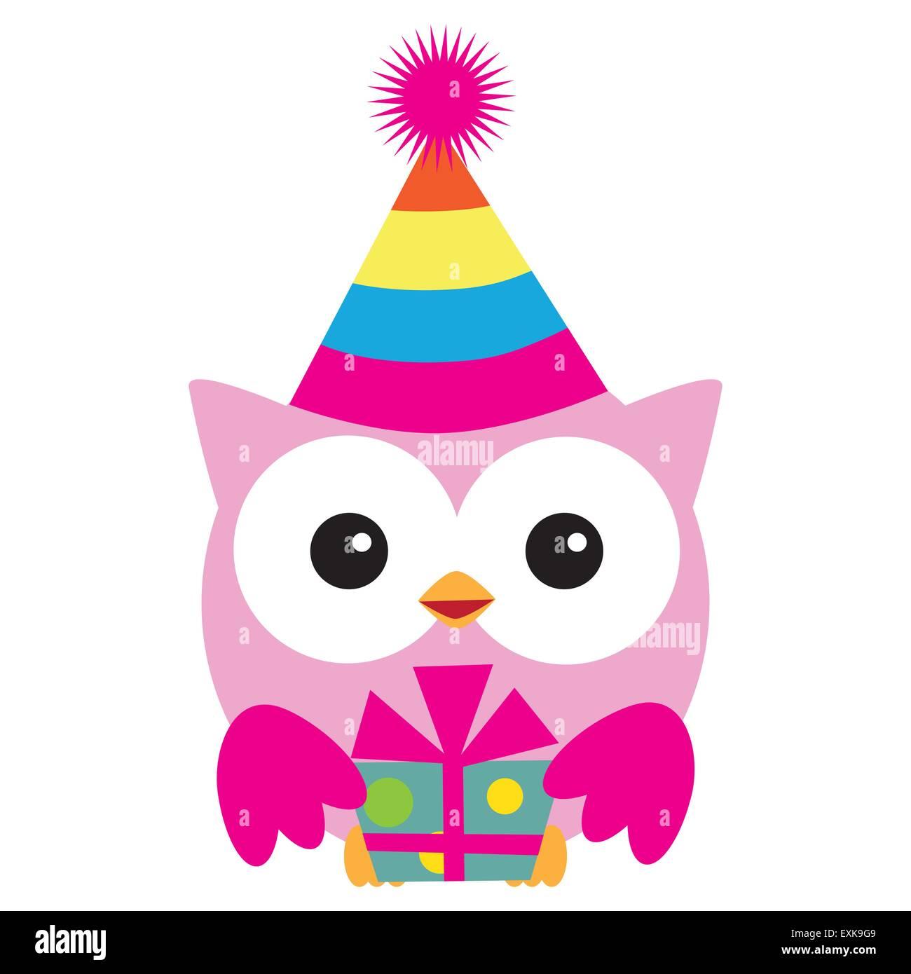 Geburtstag Eule