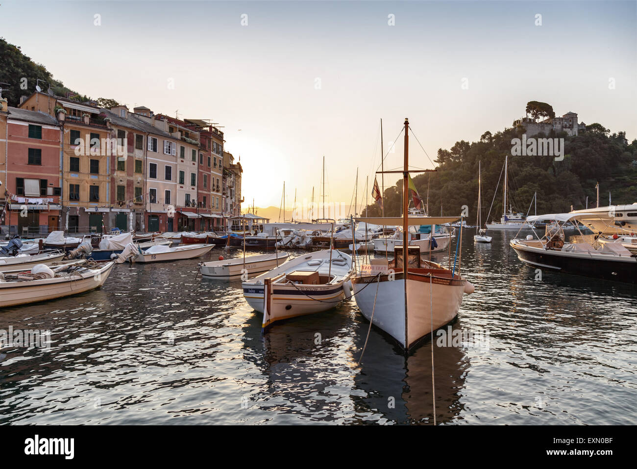 Portofino Stockbild