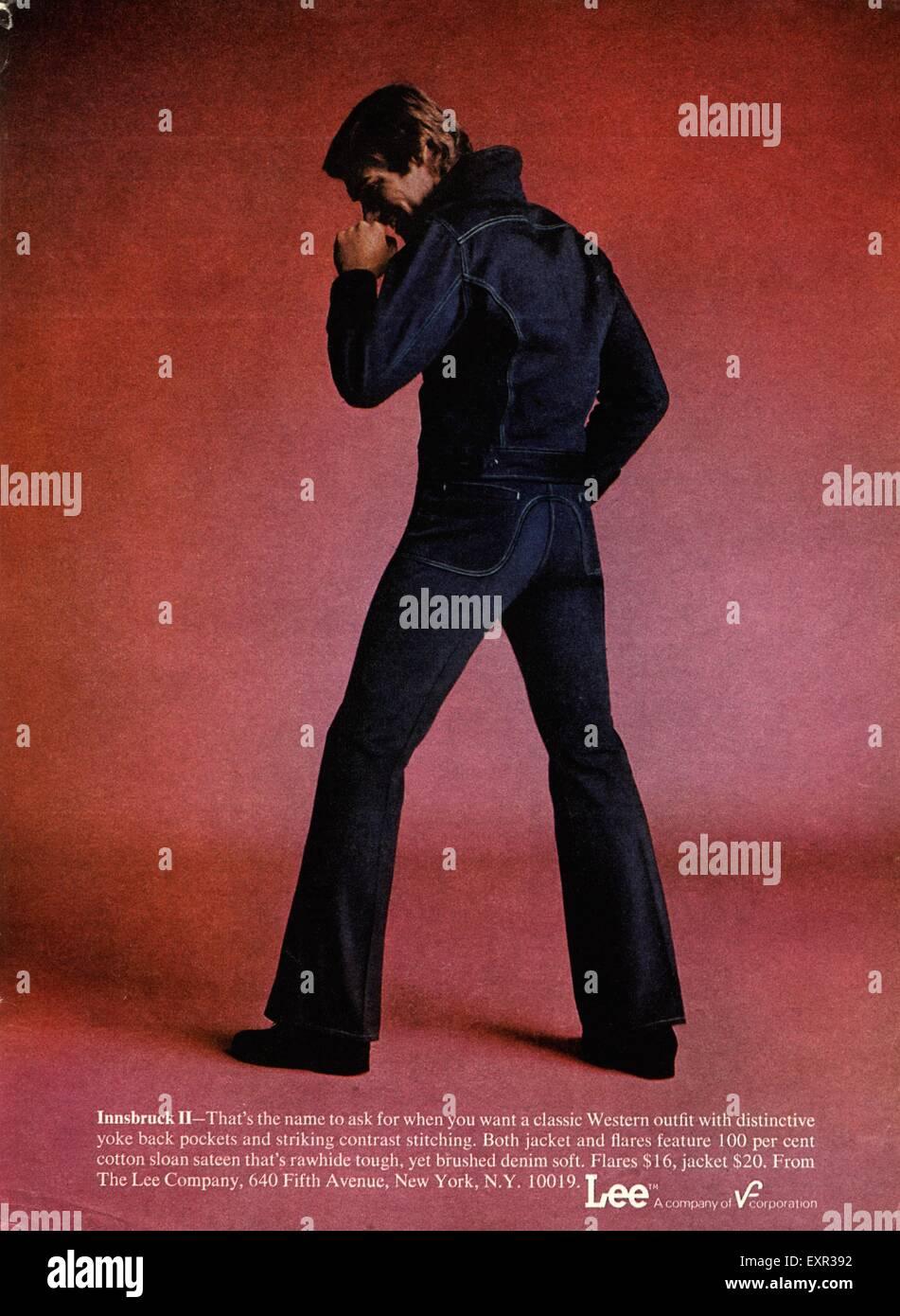 1970s Jeans Stockfotos & 1970s Jeans Bilder Alamy