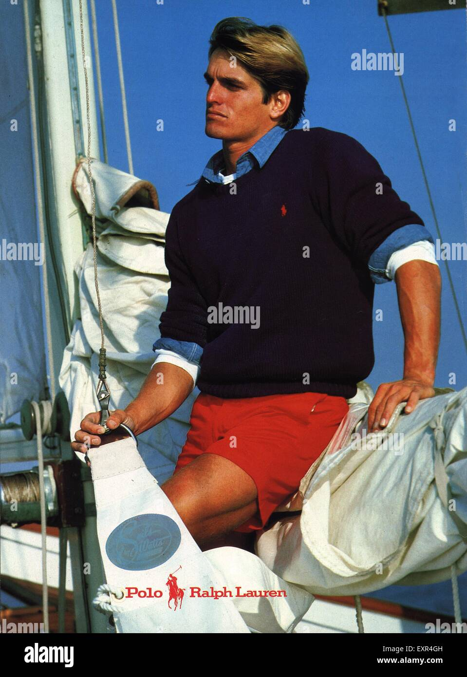 reputable site 4ca9f 2cb98 1990er Jahre UK Polo Ralph Lauren Herren Mode Magazin ...