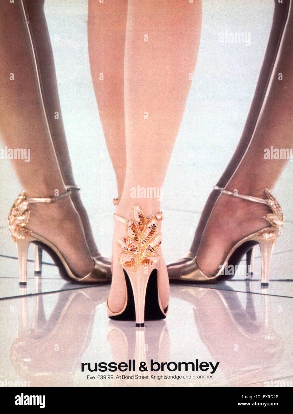 1970s Fashion Advert Stockfotos & 1970s Fashion Advert