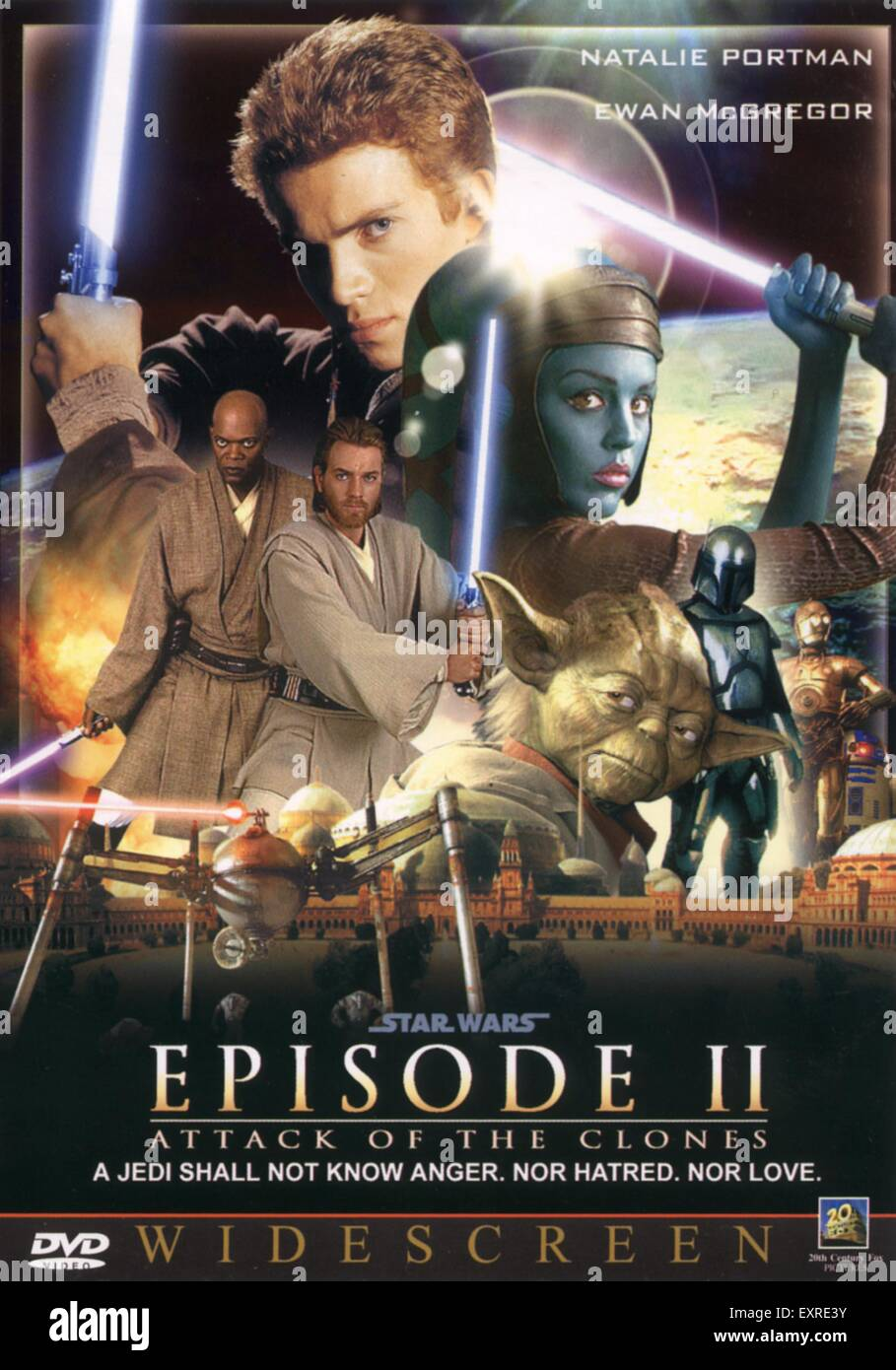2000er Jahre UK Star Wars Filmposter Stockfoto, Bild: 85338511 - Alamy