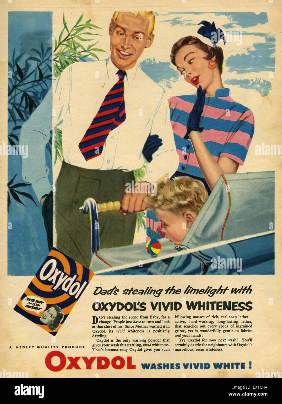 Oxydol Waschpulver Stockfotos und  bilder Kaufen   Alamy