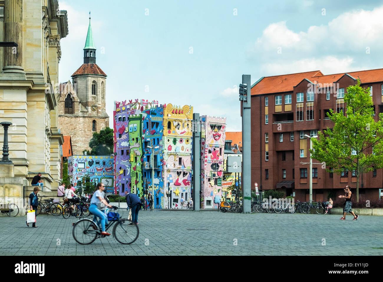 Künstler Braunschweig braunschweig brunswick deutschland rizzi house artwork