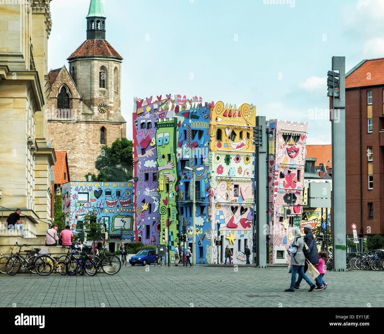 Braunschweig, Brunswick, Deutschland Happy Rizzi House