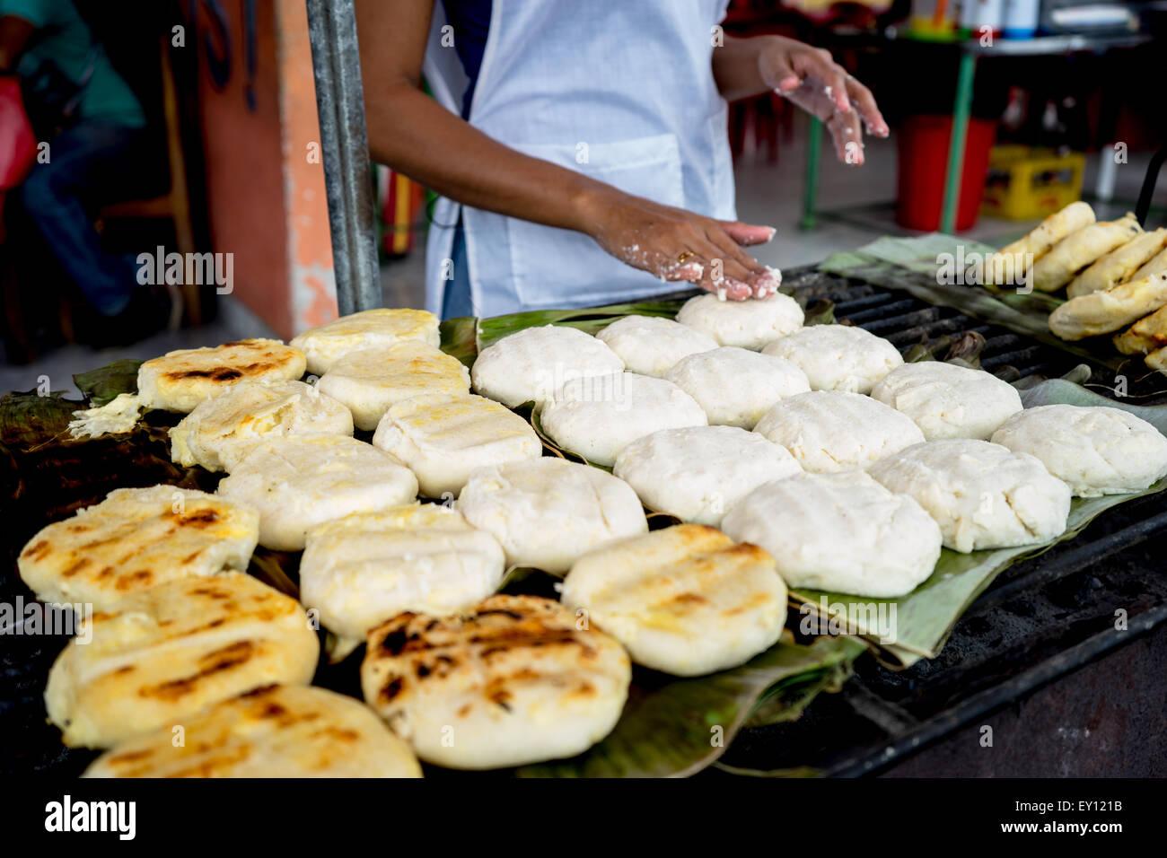 South American Food Vendor Stockfotos & South American Food Vendor ...