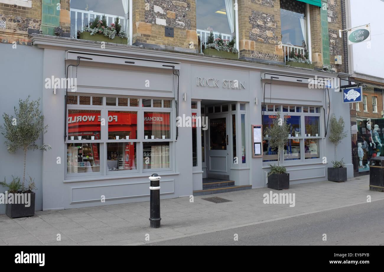 Rick Stein Fischrestaurant in Winchester High Street Hampshire UK Stockbild