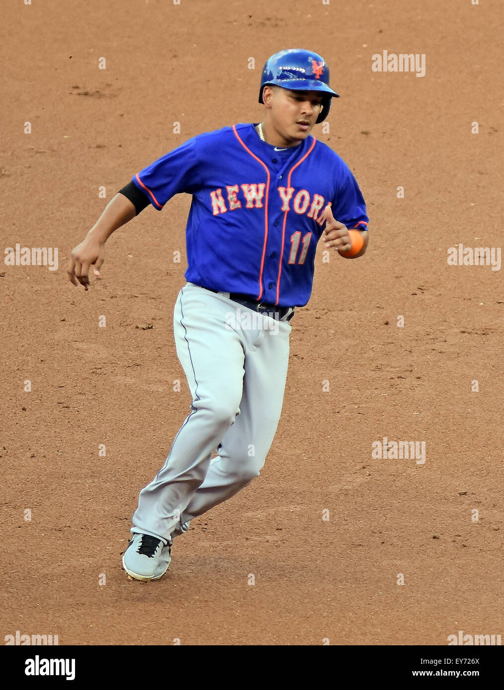 New York Mets Third Base Stockfotos & New York Mets Third Base ...