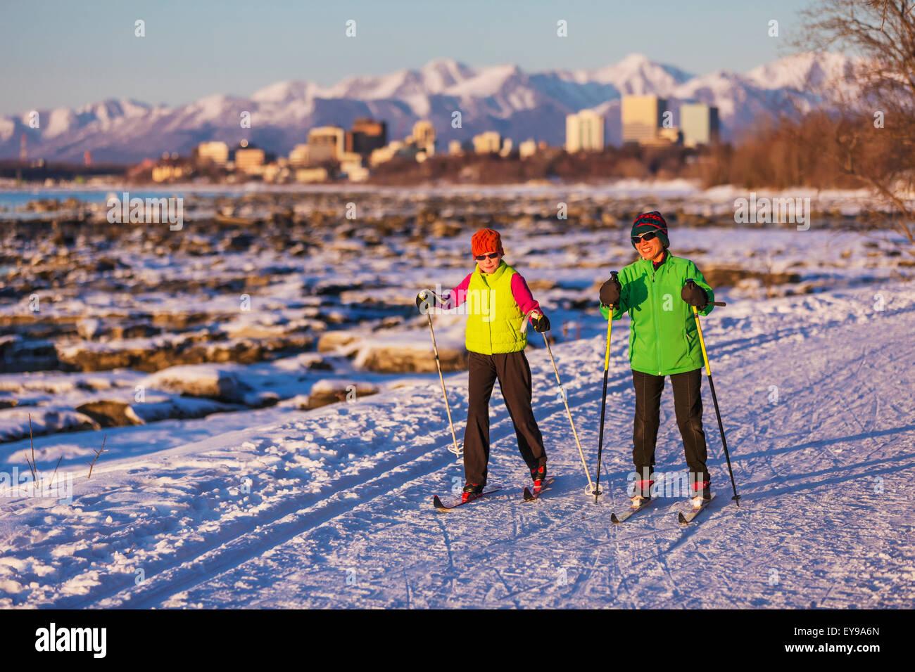 Alaska Zeit Verankerung