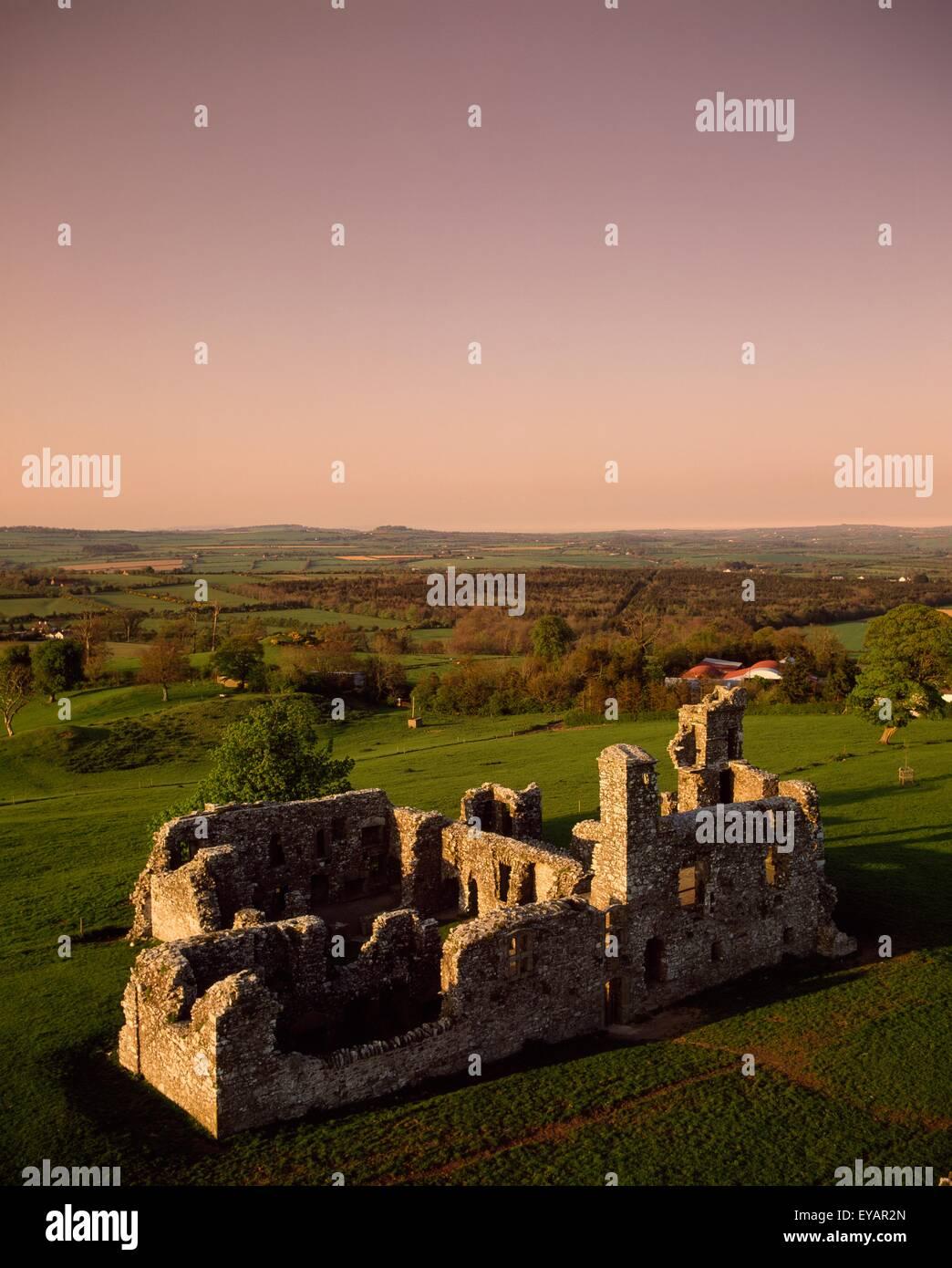 Slane, Co Meath, Irland; 16. Jahrhundert Franziskaner College Stockbild
