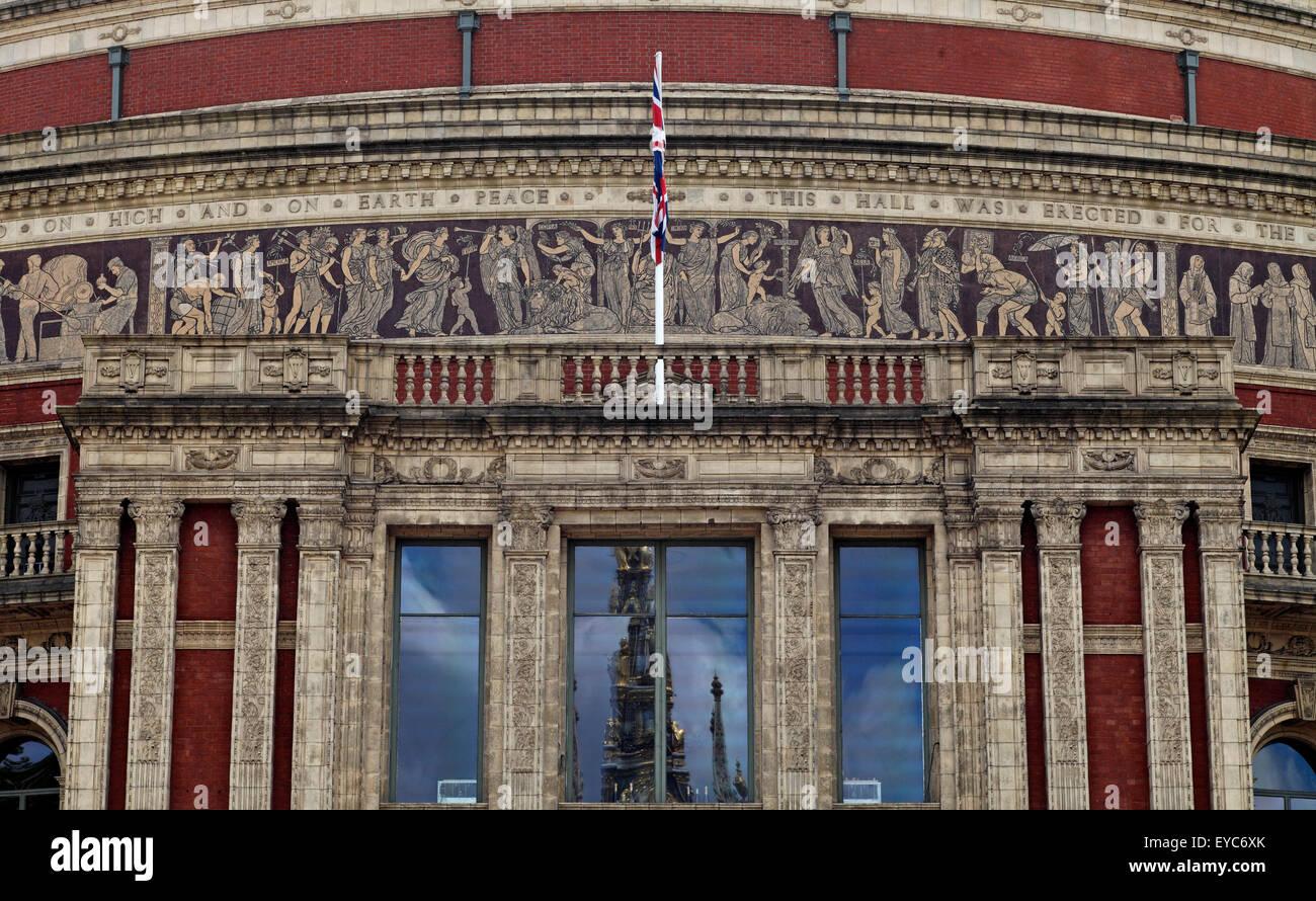 Fries Architektur royal albert south kensington uk nahaufnahme