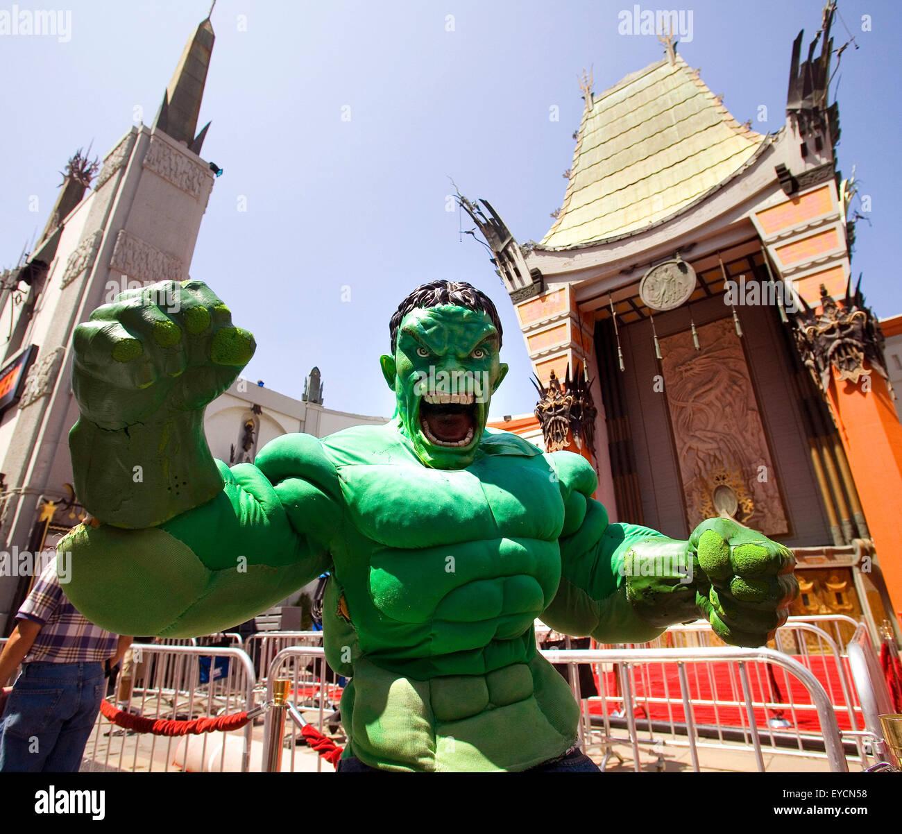 Comicfigur Hulk Stockbild