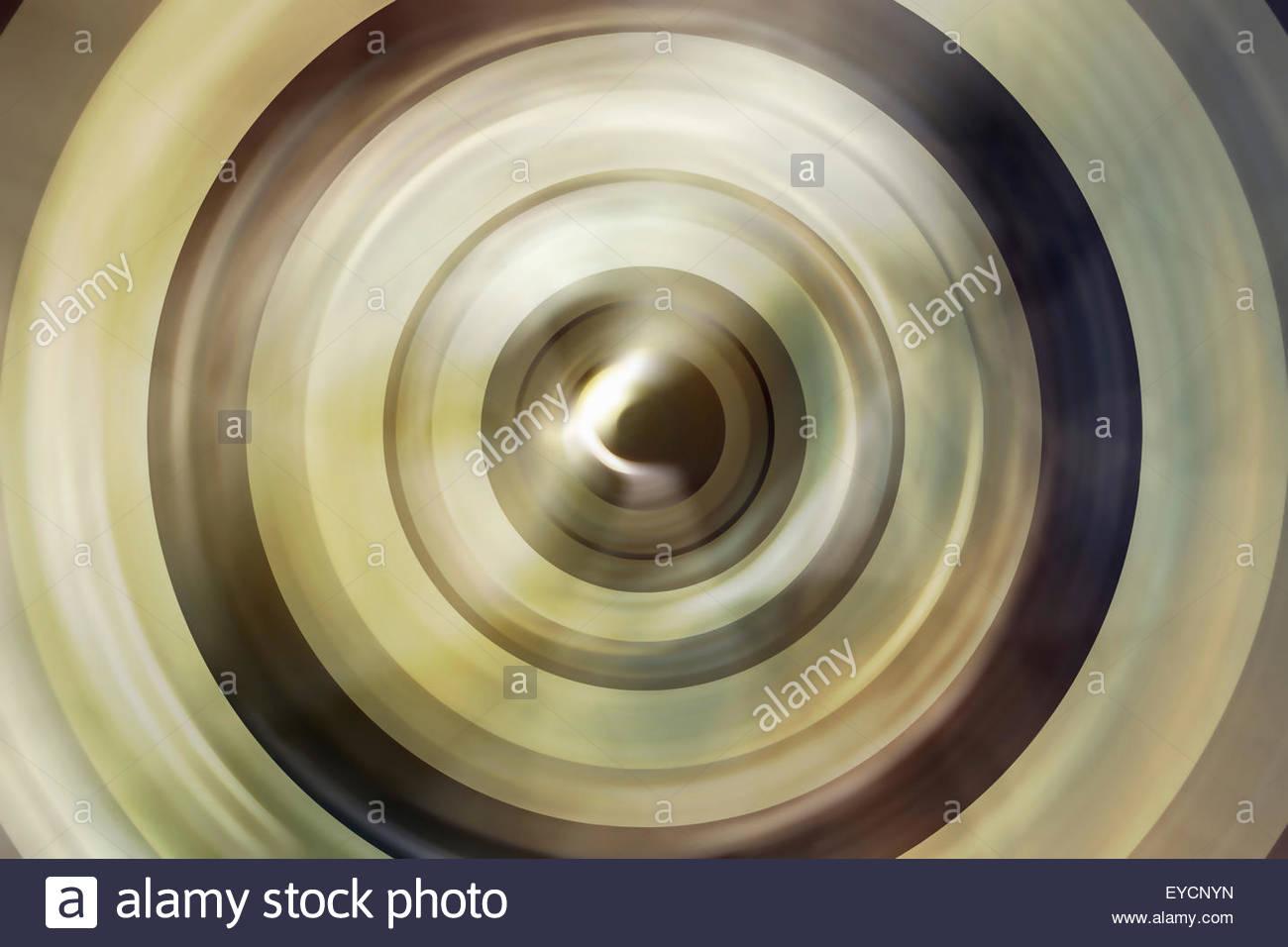 Full-Frame-abstrakten Hintergründen Muster aus konzentrischen Kreisen Stockbild