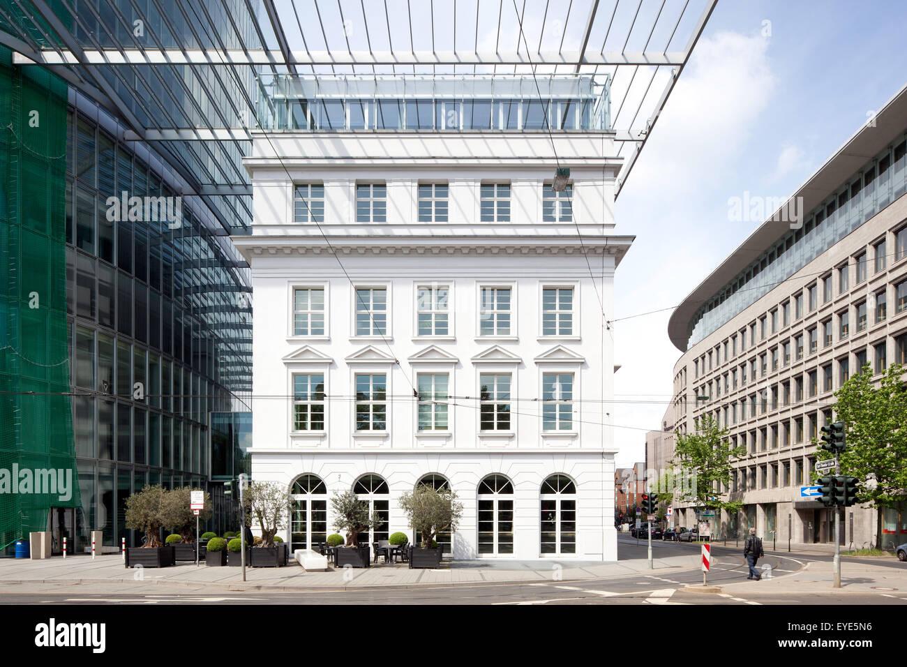 GAP 15 Büroturm, Düsseldorf, Rheinland, Nordrhein-Westfalen, Deutschland Stockbild