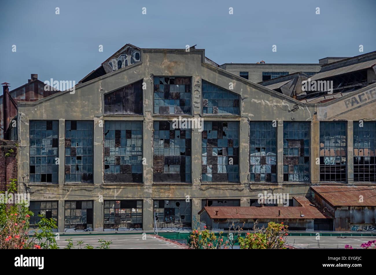 Ruinen und Sehenswürdigkeiten der Stadt mit einer alten Seele - San Francisco Stockbild