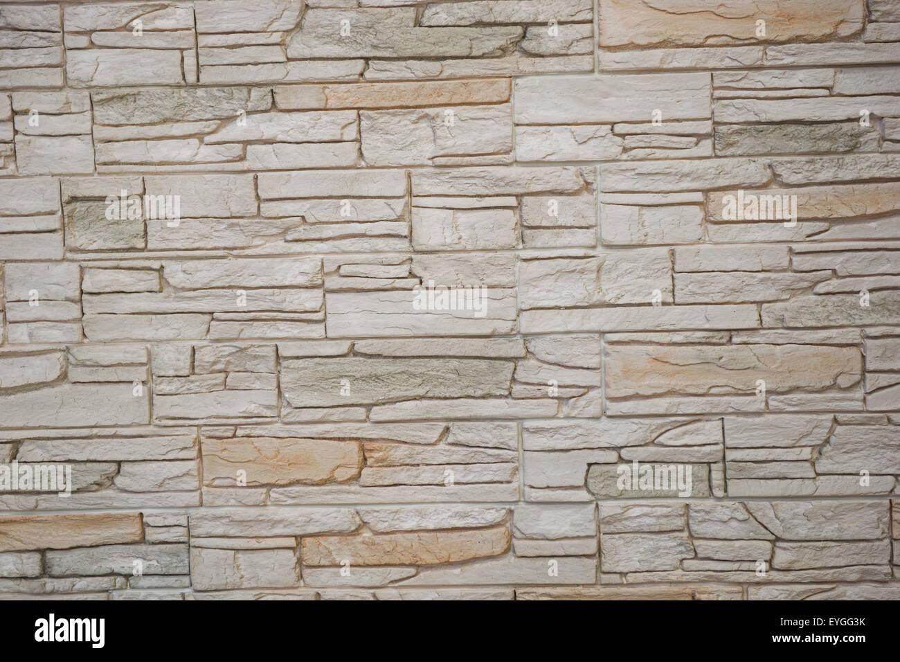 Wand Aus Naturstein. Große Hintergrund Oder Textur