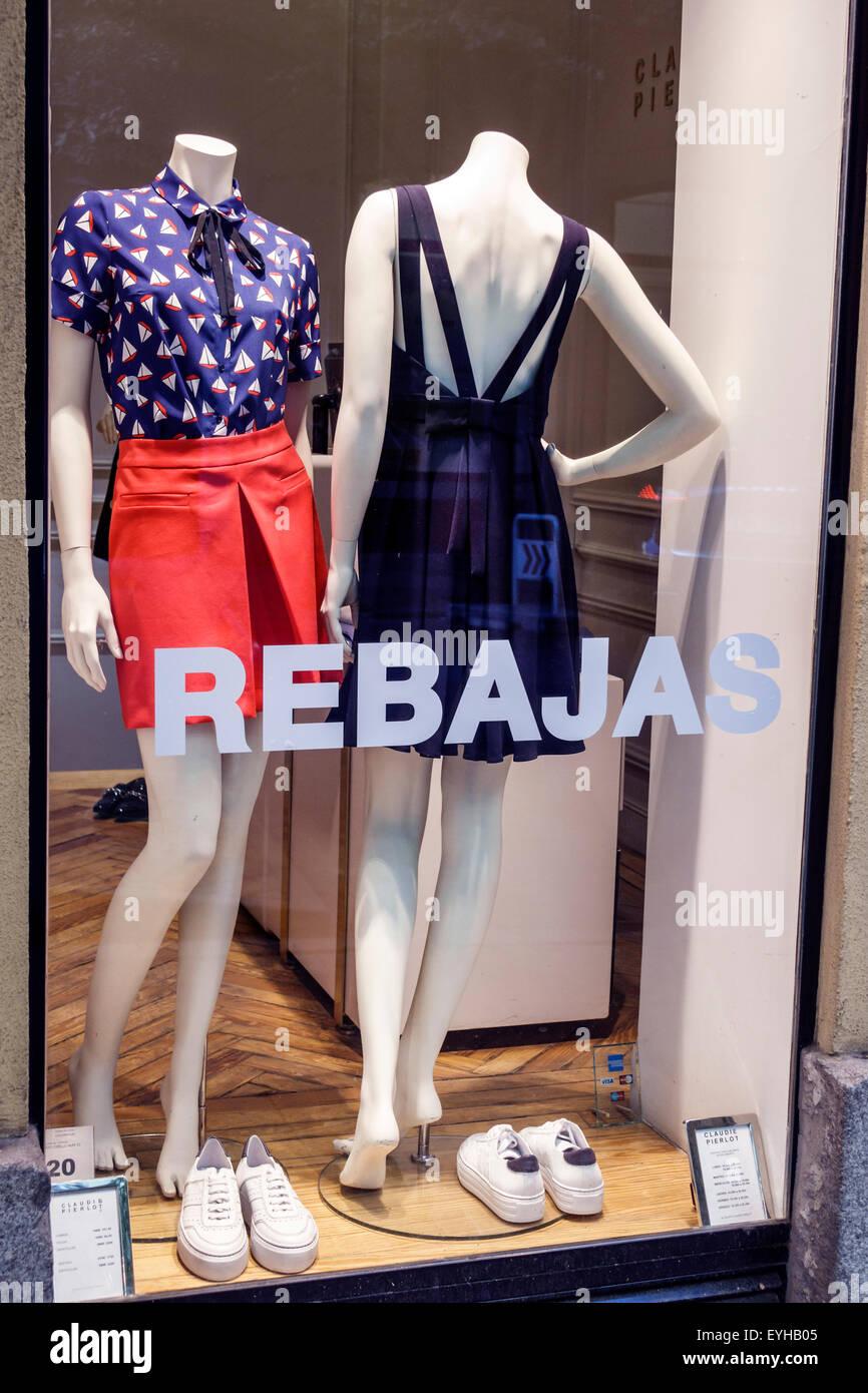 9b9be3bd8c1826 Madrid Spanien Europa Spanisch Salamanca Frauen Kleidung Mode Shop Fenster  Anzeige Verkauf